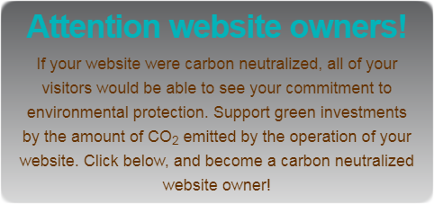 You too become carbon neutral!